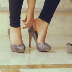Идеалната височина на дамските обувки