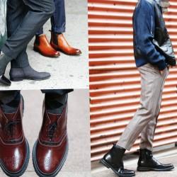 Модни мъжки зимни обувки: Общи тенденции