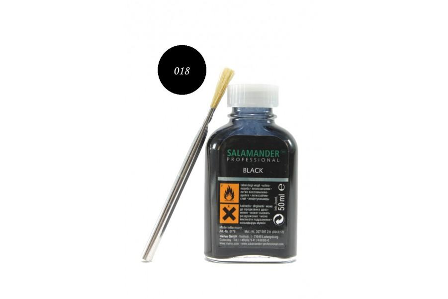 Боя за пребоядисване - гладка кожа - черни - EO-4586