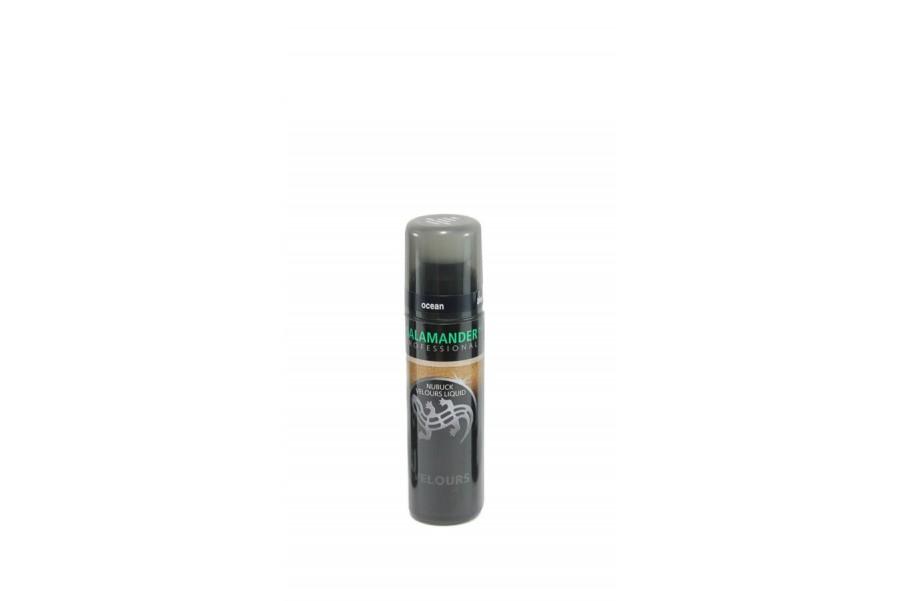 Течна боя - велур и набук - тъмносин - EO-8987