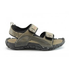 Детски сандали - висококачествен pvc материал - бежови - EO-890