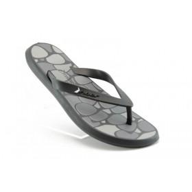 Дамски чехли - висококачествен pvc материал - черни - EO-908