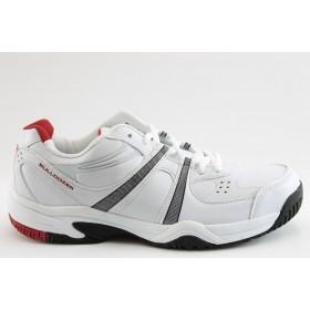 Спортни мъжки обувки - еко-кожа - бели - EO-4741