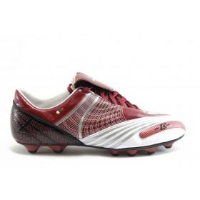 Спортни мъжки обувки - еко кожа-лак - червени - EO-2847