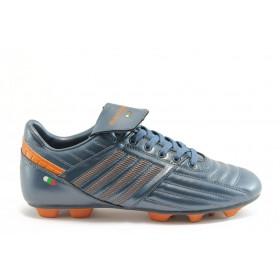 Спортни мъжки обувки - еко-кожа - сини - EO-2848