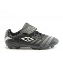 Спортни мъжки обувки - висококачествена еко-кожа - черни - EO-2878