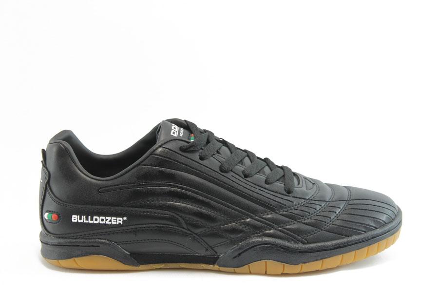 Спортни мъжки обувки - висококачествена еко-кожа - черни - EO-2879