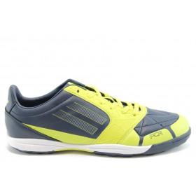 Спортни мъжки обувки - еко-кожа - зелени - EO-2043