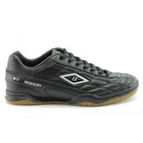 Спортни мъжки обувки - еко-кожа - черни - EO-756