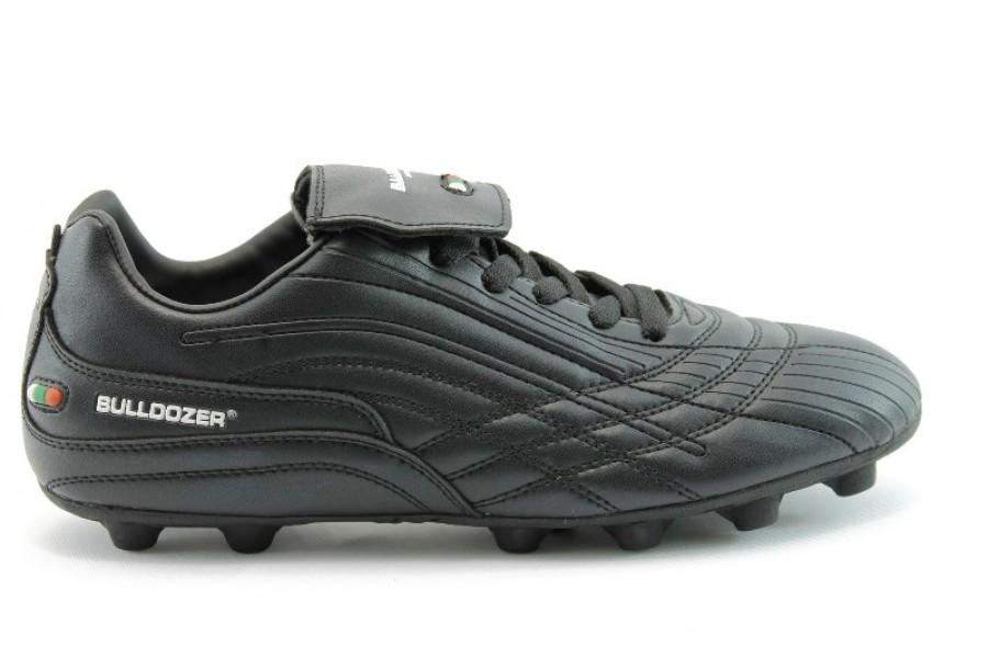Спортни мъжки обувки - еко-кожа - черни - EO-755