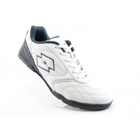 Спортни мъжки обувки - еко-кожа - бели - EO-787