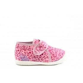 Детски обувки - висококачествен текстилен материал - розови - EO-2797