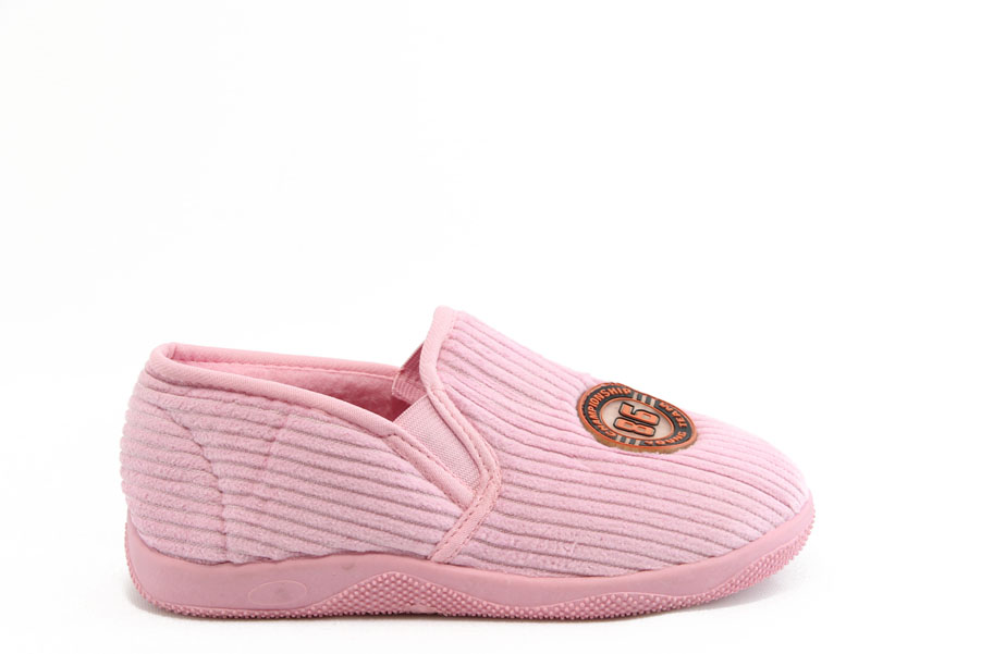 Детски обувки - висококачествен текстилен материал - розови - EO-2798