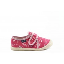 Детски обувки - висококачествен текстилен материал - розови - EO-2799