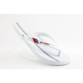 Мъжки чехли - висококачествен pvc материал - бели - EO-1182