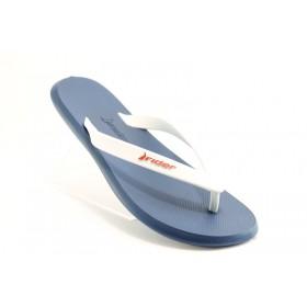 Мъжки чехли - висококачествен pvc материал - сини - EO-1197