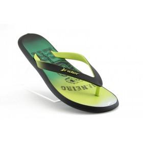 Мъжки чехли - висококачествен pvc материал - зелени - EO-1203