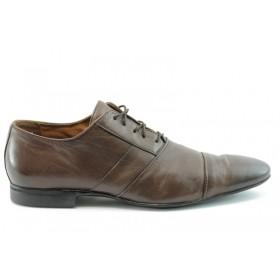 Мъжки обувки - естествена кожа - кафяви - EO-273