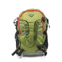 Туристическа раница - висококачествен полиестер - зелени - БР 011 зелен
