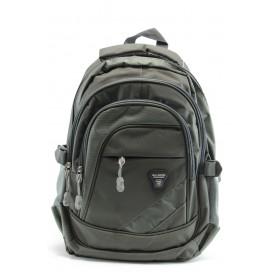 Раница - висококачествен полиестер - зелени - БР 211з