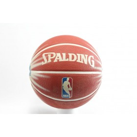 Баскетболна топка - гумен материал - червени - EO-2853