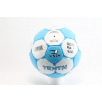 Футболна топка - висококачествена еко-кожа - сини - EO-2858