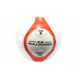 Футболна топка - висококачествен pvc материал - бели - БР 07-01