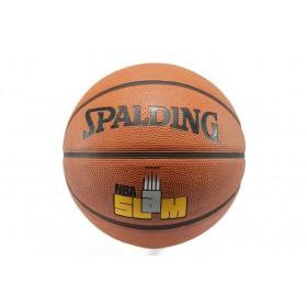 Баскетболна топка - гумен материал - оранжеви - Spalding NBA Slam 5