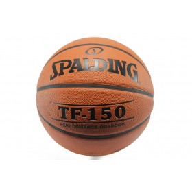Баскетболна топка - гумен материал - оранжеви - Spalding TF-150 7