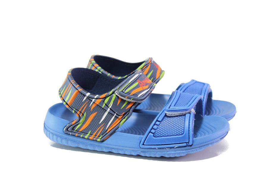 649661c90e2 Детски сандали - висококачествен pvc материал - светлосин - EO-14215